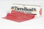 Original Thera-Band, Rolle � 5,5 m, rot (mittel)